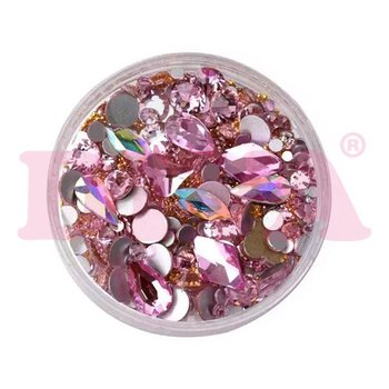 Crystal Mix Pink