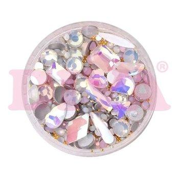 Crystal Mix Light Pink