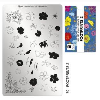 Moyra Stamping Plaat 70 Footprints 2