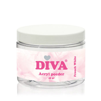 Diva Acryl French White 45 gr