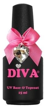 Diva Base en Topcoat 15 ml