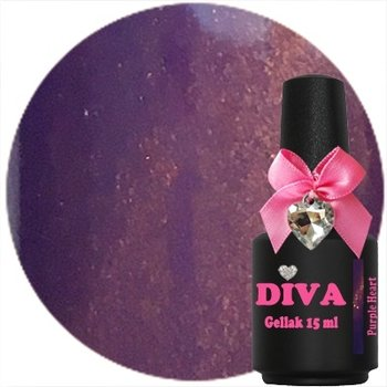 Diva gellak cat eye Purple Heart 15 ml