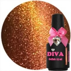 Diva gellak chameleon cat eye Burning Love 15 ml