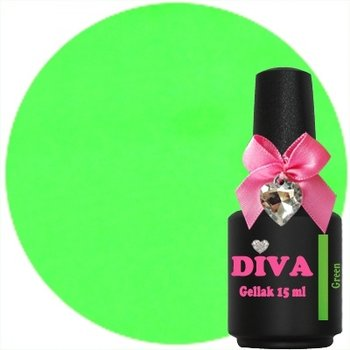 Diva gellak Neon Green 15 ml