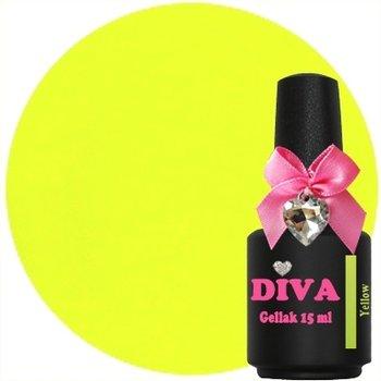 Diva gellak Neon Yellow 15 ml