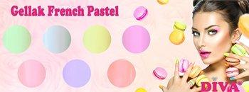 Diva  French Pastel serie zonder glitter