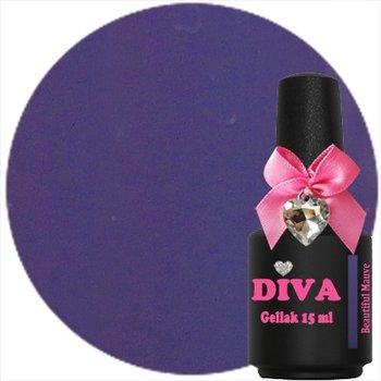 Diva gellak Beautiful Mauve 15 ml