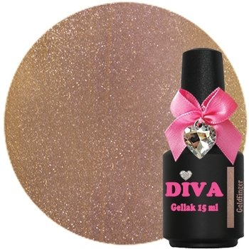 Diva gel lak Goldfinger 15 ml