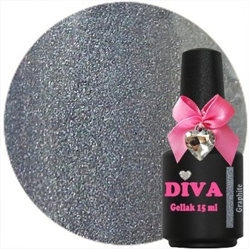 Diva gel lak Graphite 15 ml