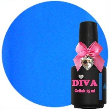 Diva gel lak Neon Blue 15 ml