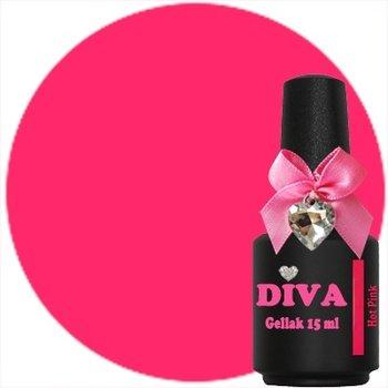 Diva gel lak Neon Hot Pink 15 ml niet op voorraad