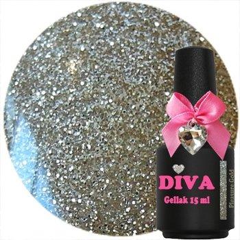 Diva gel lak Pleasure Gold 15 ml