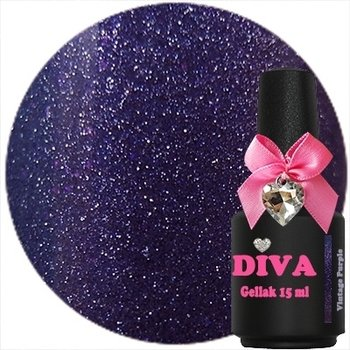 Diva gel lak Vintage Purple 15 ml
