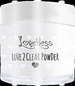 Love 2 Powder clear powder 100 gr