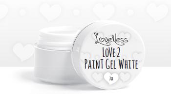 Love 2 Paint White