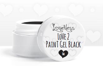 Love 2 Paint Black