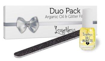 Duo Pack Arganic Oil & Glitter File