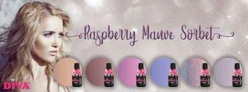 Diva Raspberry Mauve collectie Compleet incl glitters