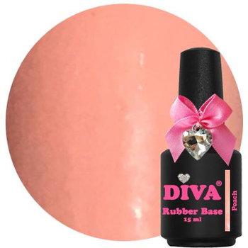 Diva Rubber Base Coat Peach
