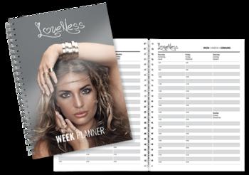 LoveNess weekplanner