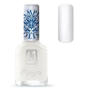 Moyra Stamping Polish White 06