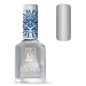 Moyra Stamping Polish Silver 08