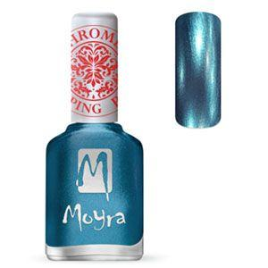 Moyra Stamping Polish Chrome Blue 26