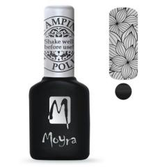 Moyra Stamping Gelpolish Black 01