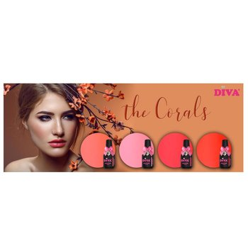 Coral Collectie incl glitter