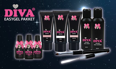 Diva EasyGel Starterskit met gratis* omscholing